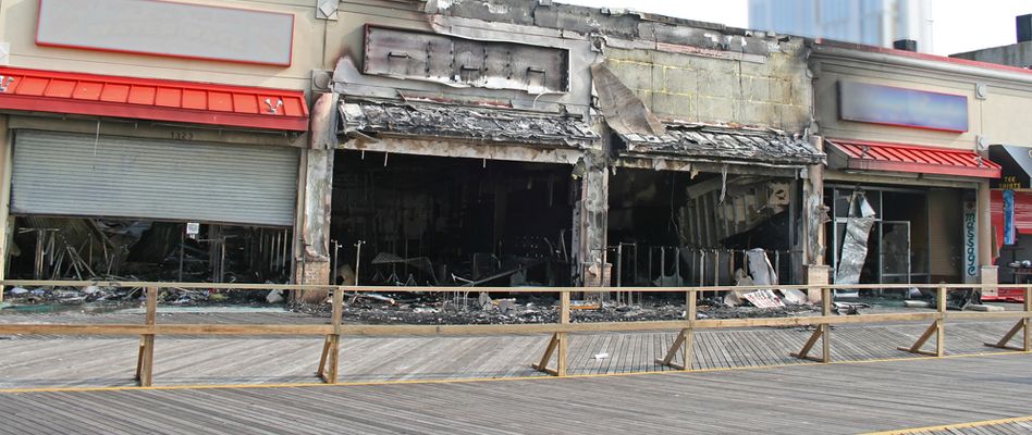 Commercial Fire Damage Restoration in Alameda