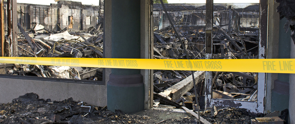 Commercial Fire Damage Services in Alameda, California