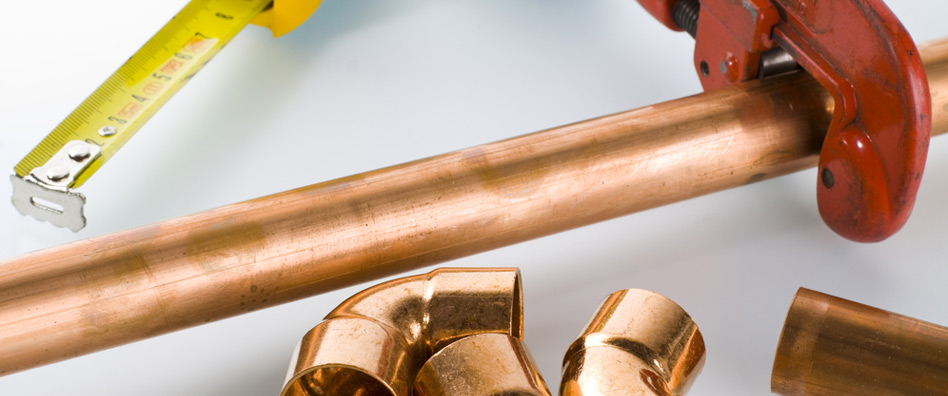 Copper Plumbing Pipes in Alameda, California