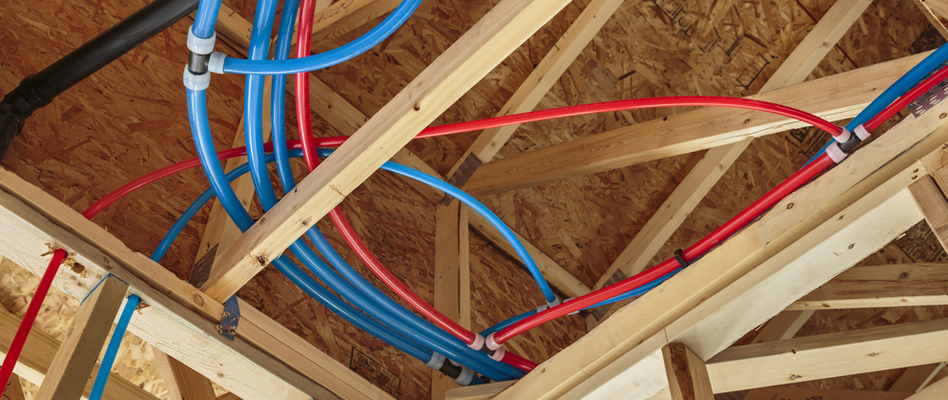 PEX Piping Installation in Albany, California